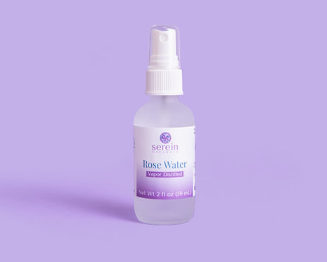 Organic Vapor Distilled Rose Water