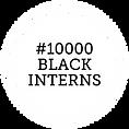 #10000 BLACK INTERNS - white with black