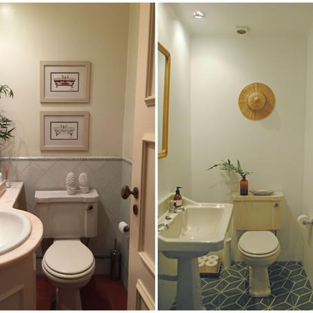 #A casa nova - A casa de banho de visitas!