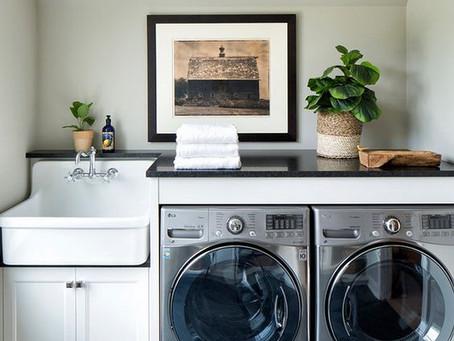 #A casa nova - A lavandaria e projecto secreto