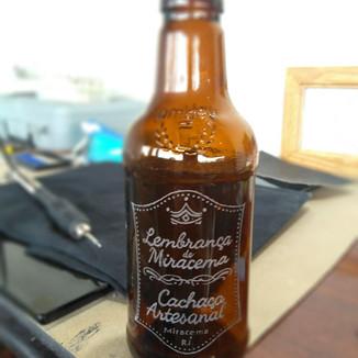 Gravação em garrafa