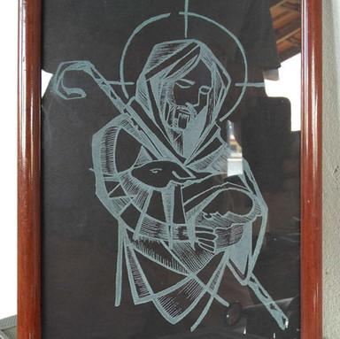 Ilustração Bom Pastor