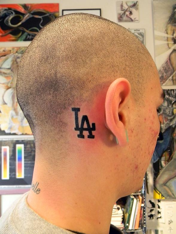 L A Dodgers Logo.