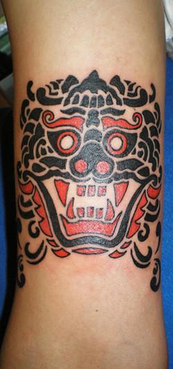 Tibetian mask.