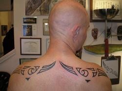 Large Custom Shoulder Spread ink.