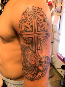 Details of tattoo.