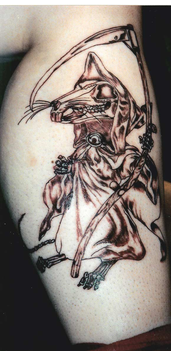 Rat Grim Reaper.