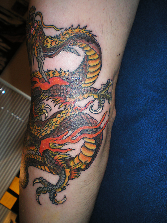 Dragon image - three of three.