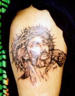 Portrait of Jesus.