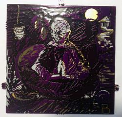 zen monk at peace