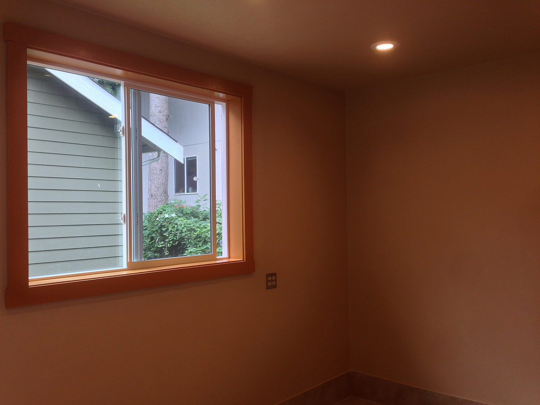 Window aftwer fresh paint.