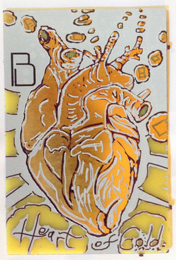 heart of gold 4 x 6 inch PCB board
