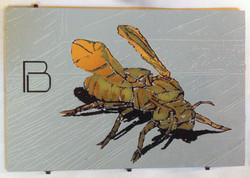 origami bee 4 x 6 inch PCB board