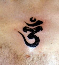 The Om symbol.