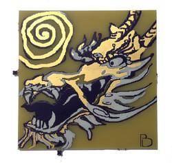 dragon and sun pcb square