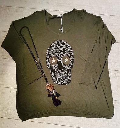 Pull Skull léopard