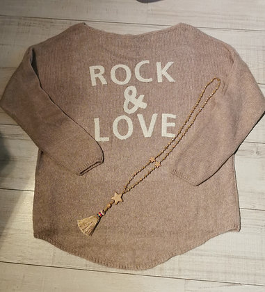 Pull maille Rock&Love