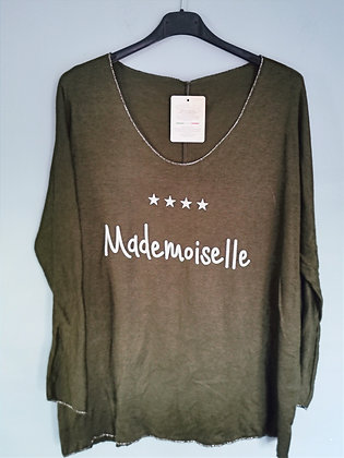 Pull Mademoiselle