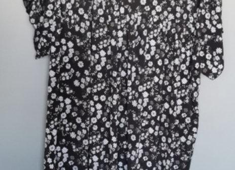 Maxi robe fleurie