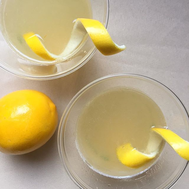Elder-Meyer Lemon Drop