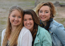 Jenny, Pauline and Maggy