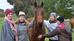 Sofia, Jenny, Maggie & Pauline 2014