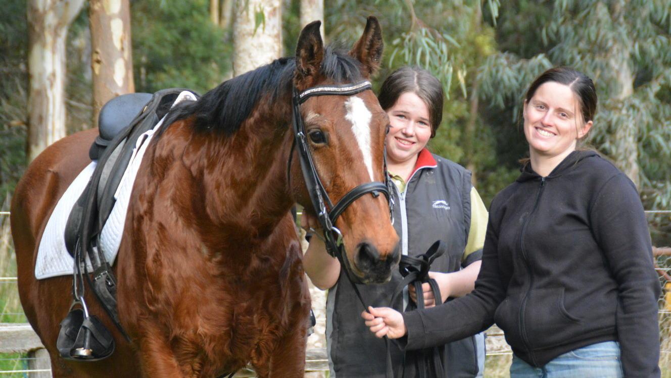 Faith with Sarah and Tracey