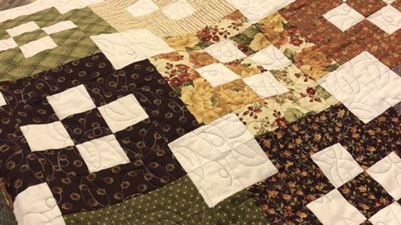 Earth tones/Autumn Quilt