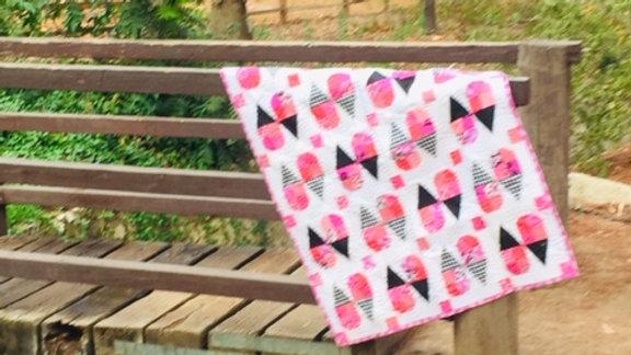 Pink* Ice Cream Cone Quilt