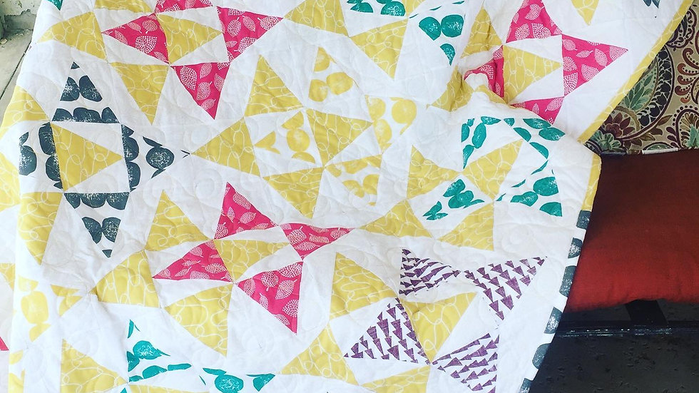 Sunshine Therapy Quilt - SUICIDE AWARENESS DONATION