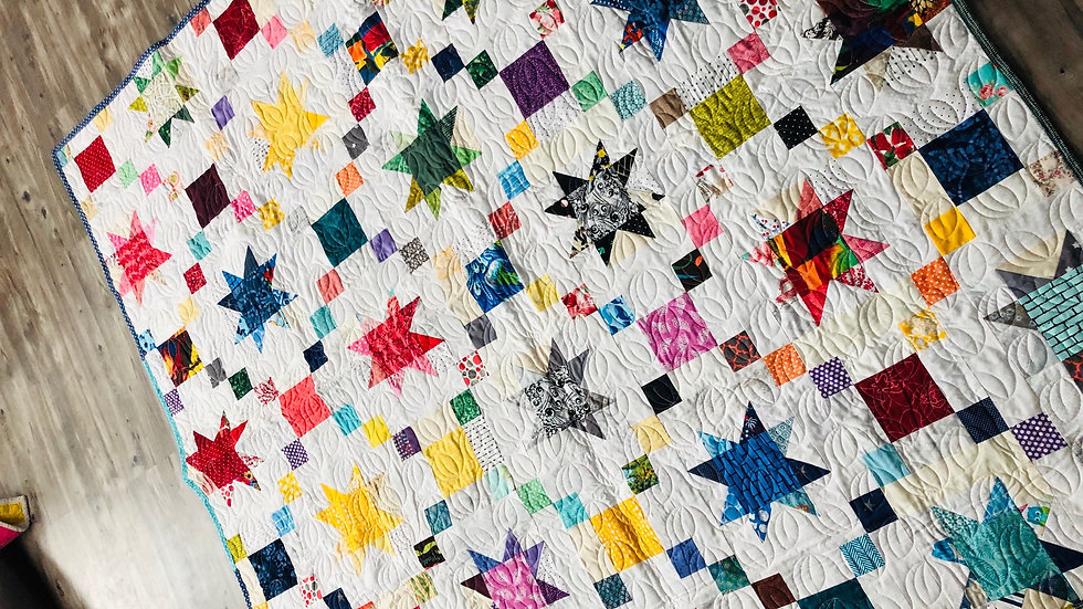 Picnic Day Star Quilt