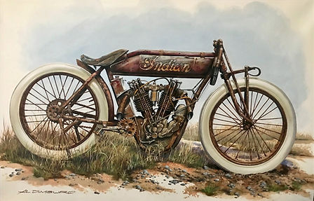 1913 Indian Board Track Racer