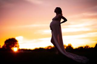 Ottawa sunset maternity session