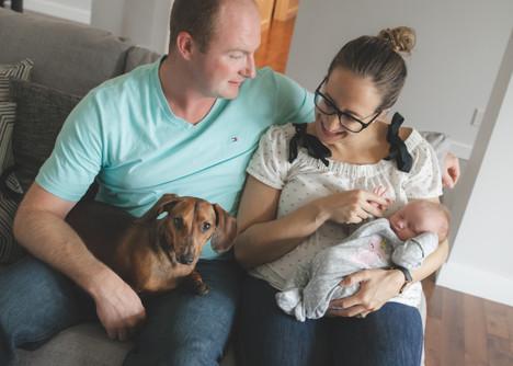 Ottawa newborn lifestyle photography