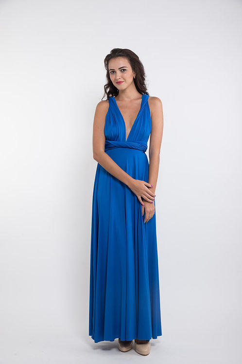 Convertible Dress - Electric Blue