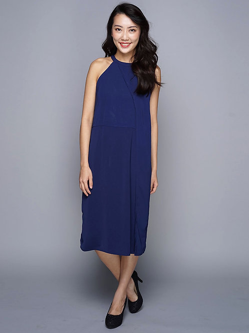 Blue Flap Dress
