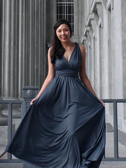 Convertible Dress - Slate