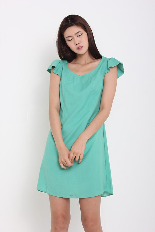 Flutter Sleeves Dress