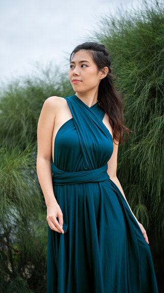 My Little Bow Bridesmaid Dress Singapore Convertible Infinity Multiway Dress Plus Size