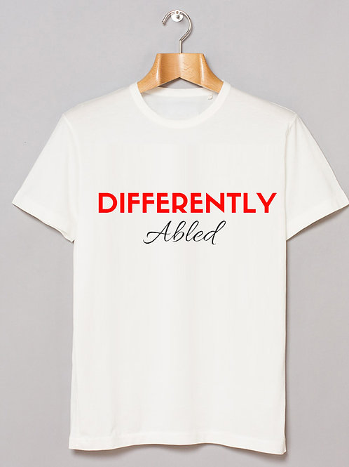 Unisex Tee - Differently Abled (W)