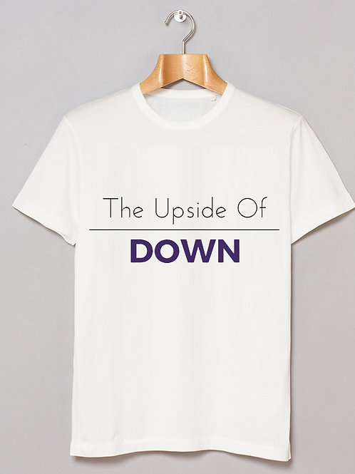 Unisex Tee - The Upside of Down (W)