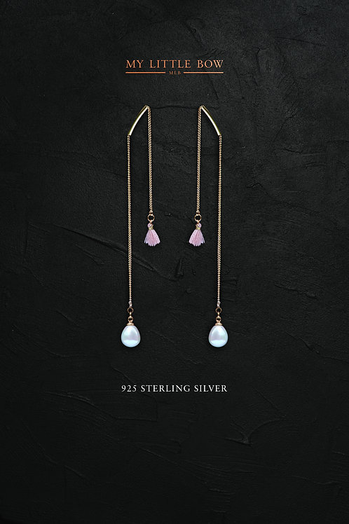 Tipping the Scales earrings in sterling silver