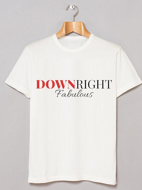 Unisex Tee - Downright Fab (W)