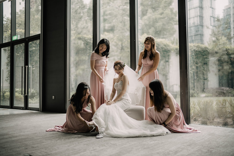 My Little Bow MLB Singapore Dusty Pink Convertible Infinity Multiway Bridesmaid Dress_audr