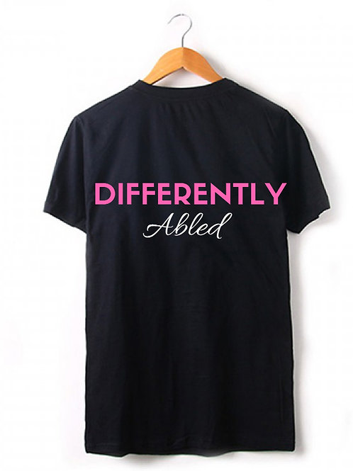 Unisex Tee - Differently Abled (B)