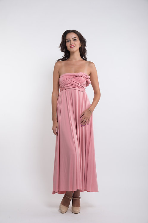 Convertible Dress - Rose