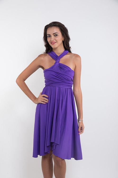 Convertible Dress - Purple