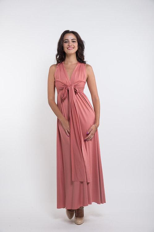 Convertible Dress - Dusty Cedar