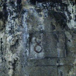 Podria ser art contemporani... però és una paret del túnel del Bruc
