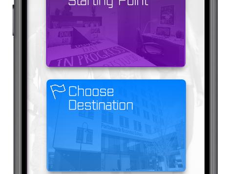 University Navigation App Prototype